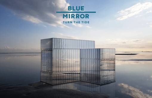 afbeelding van blue mirror experience