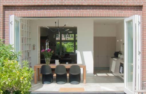 afbeelding van renovatie en uitbouw woning Haarlem