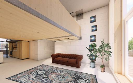 afbeelding van afbouw woning amsterdam