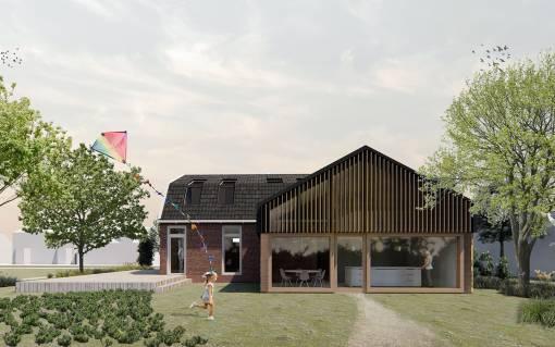 afbeelding van uitbreiding villa westzaan
