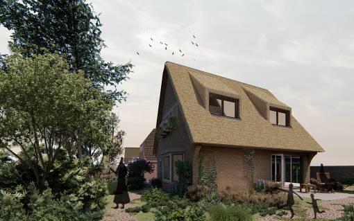 afbeelding van uitbreiding villa blaricum