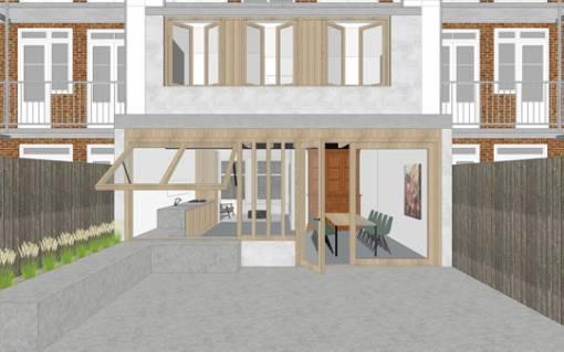 Thumbnail for uitbouw maisonette amsterdam